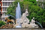Spain; Madrit; fountain; water