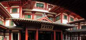 1BH1-0820; 6022 x 2827 pix; Asia, Singapore, Buddha Tooth Relic Temple, temple, buddhism, Buddha